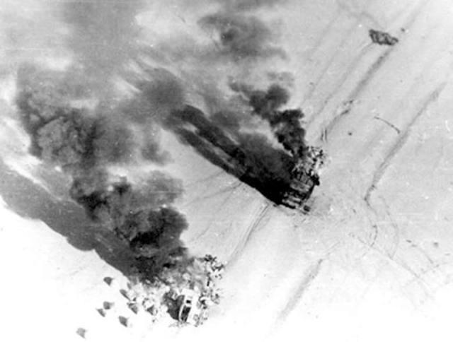 Уничтоженные афганские грузовики