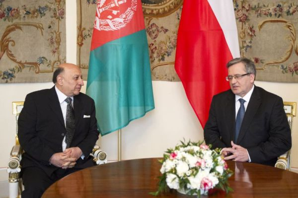 Newly arrived Ambassador of Afghanistan visits President ...