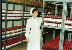 Pharmacy in the 1960, cable