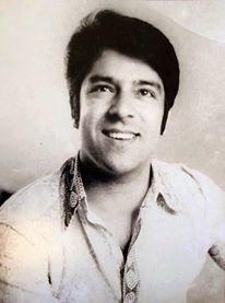 Ahmad Zahir, famous Afghan singer.