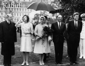 King Mohammad Zahir with The United States beloved President John F Kennedy