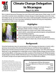 2014 Aug Nicaragua climate change flyer v 1