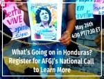 Honduras webinar