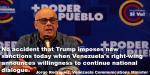 Jorge Rodriguez, Venezuela communications Manager Meme