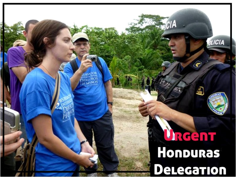 Honduras Human Rights Delegation 2018