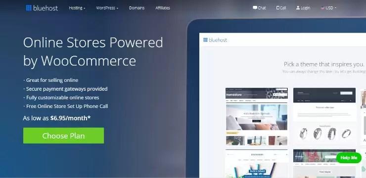 شراء نطاق وحساب استضافة من Bluehost