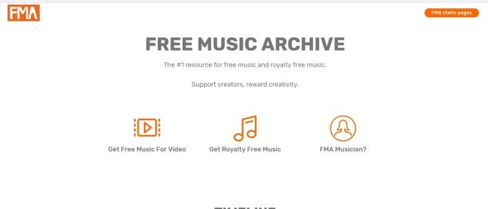 أرشيف الموسيقى المجاني Free Music Archive
