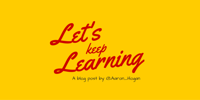 Keep Learning (1)