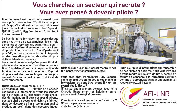 AFI-LNR - Article Tendance Ouest - BTS PP