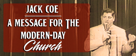Coe-Message For The Modern day Church audio banner