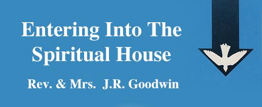 entering into the spiritual house banner