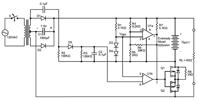 Battery Backup Circuit Diagram