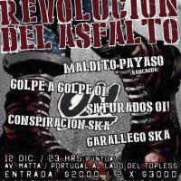 SANTIAGO: SÁBADO 12 DE DICIEMBRE DE 2015 - REVOLUCIÓN DEL ASFALTO