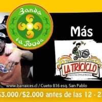 SANTIAGO: SÁBADO 06 DE FEBRERO DE 2016 - BANDA LA RODA