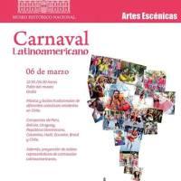 SANTIAGO: DOMINGO 06 DE MARZO DE 2016 - CARNAVAL LATINOAMERICANO