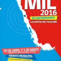 SAN BERNARDO: SÁBADO 30 DE ABRIL Y DOMINGO 01 DE MAYO DE 2016 - 25° CUECAS MIL