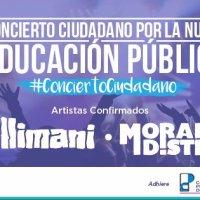 SANTIAGO: SÁBADO 25 DE JUNIO DE 2016 - CONCIERTO CIUDADANO POR LA NUEVA EDUCACIÓN PÚBLICA