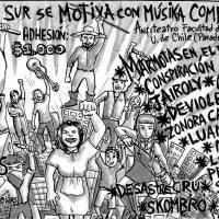 LA PINTANA: VIERNES 29 DE JULIO DE 2016 - ¡¡ZONA SUR SE MOTIVA CON MÚSIKA COMBATIVA!!