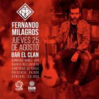 RECOLETA: JUEVES 25 DE AGOSTO DE 2016 - FERNANDO MILAGROS