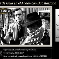 SANTIAGO: VIERNES 23 DE SEPTIEMBRE DE 2016 - DUO RAZZANO