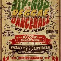 SANTIAGO: VIERNES 30 DE SEPTIEMBRE DE 2016 - HIP-HOP REGGAE DANCEHALL