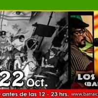 SANTIAGO: SÁBADO 22 DE OCTUBRE DE 2016 - LA BARTOLA DEL FLOW + LOS DE LA CASA