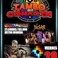 SANTIAGO: VIERNES 28 DE OCTUBRE DE 2016 - TAMBO DEL CONACÍN