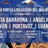 ESTACIÓN CENTRAL: SÁBADO 29 DE OCTUBRE DE 2016 - PEÑA POR LA LIBERACIÓN DEL WALLMAPU