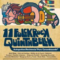 11 FOLKROCK QUINTA BELLA * sábado 03 de diciembre de 2016 #recoleta #quintabella