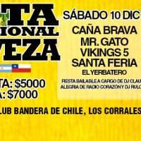 FIESTA INTERNACIONAL DE LA CERVEZA * sábado 10 y domingo 11 de diciembre de 2016 #pirque