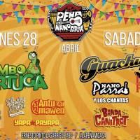 viernes 28 y sábado 29 de abril de 2017: PEÑA DEL NANO PARRA #recoleta