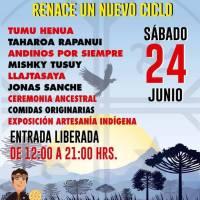 sábado 24 de junio de 2017: WE TRIPANTU #WeTripantu #AñoNuevoIndígena #Conchalí