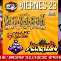 viernes 23 de junio de 2017: BANDA CONMOCIÓN #PeñadelNanoParra