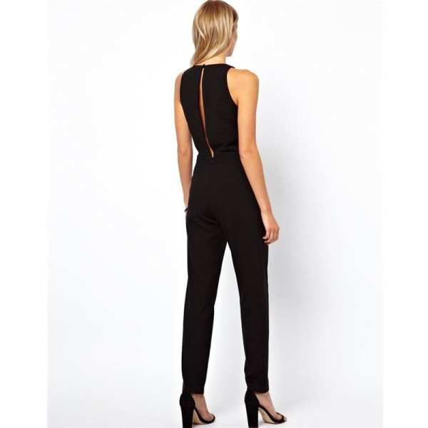 Sexy Jumpsuits Suits Behind Hollow Out