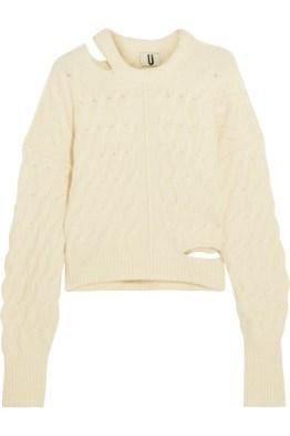topshop-unique-cutout-cable-knit-sweater