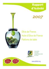Rapport d'activité AFIDOL 2007