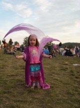 circus skills kid at festival