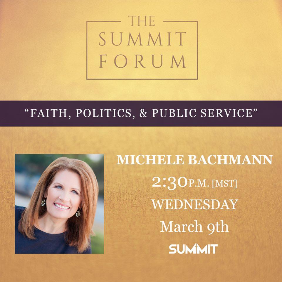 Summit Forum with Michele Bachmann