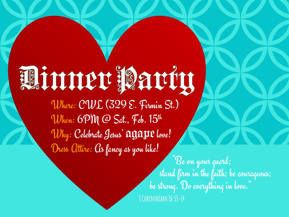 Dinner Party | 2/15/20