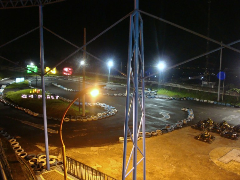 go kart batu night spectacular
