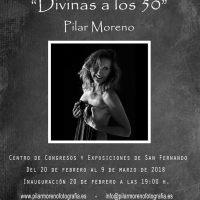 Exposición fotográfica Divinas a los 50 de Pilar Moreno