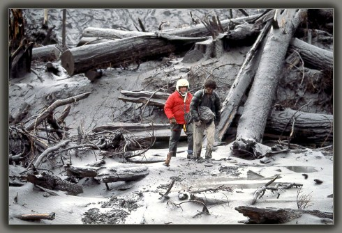 Micheal Lienau, rescued by Dad and his crew.  They have kept in touch over the years.  He was a photographer for National Geographic.