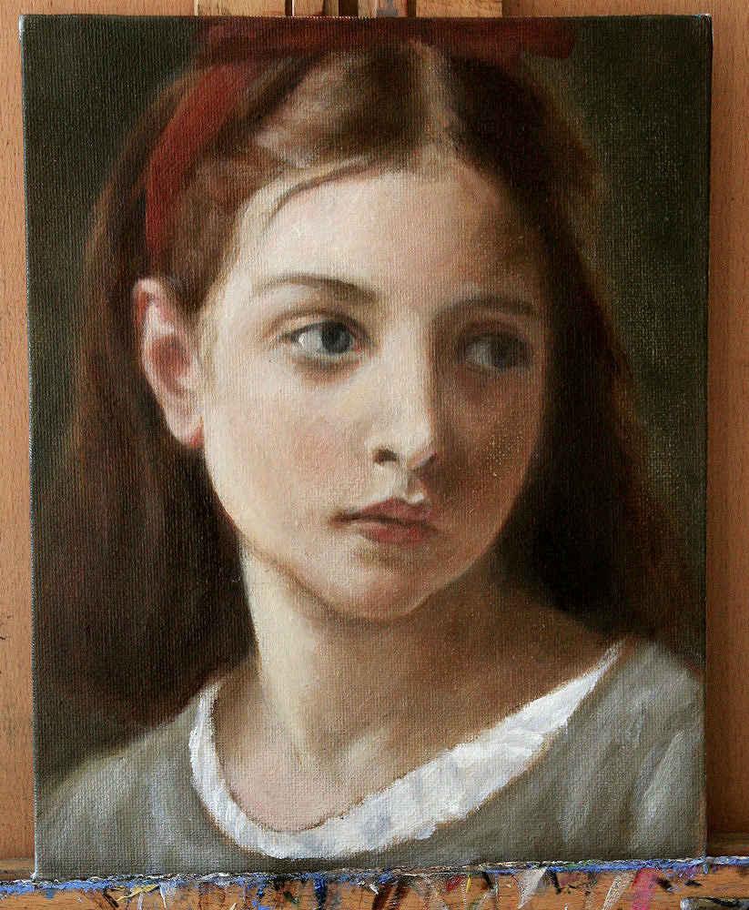 Mastercopy of Bouguereau's Young Girl by Lori Del Genis.jpg