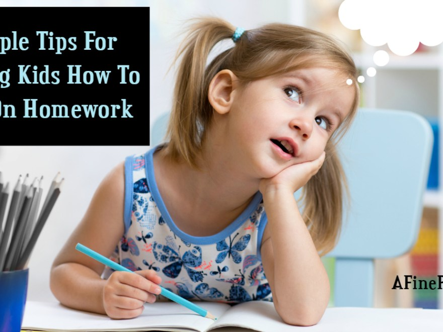 9 Simple Tips For Teaching Kids How To Focus On Homework