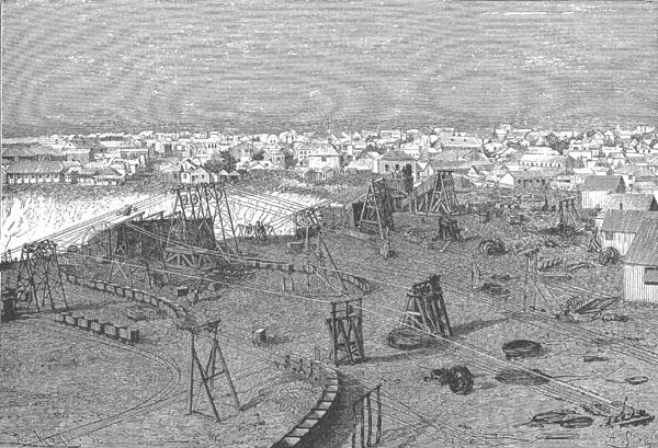 Kimberley and its diamond mine