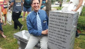 David-Silverman-of-American-Atheists-at-Starke-Monument-600x345