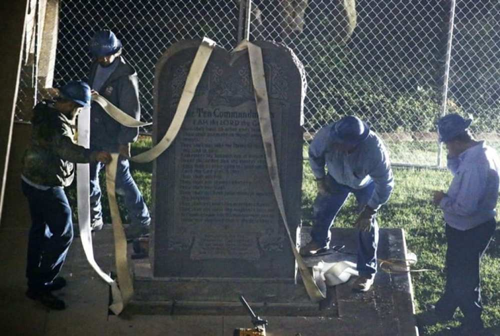 Ten-Commandments-monument-removed-from-Oklahoma-Capital-grounds