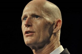 Florida Gov. Rick Scott addresses an economic summit in Orlando, Florida, June 2, 2015.  REUTERS/Steve Nesius