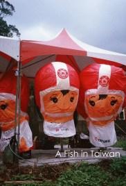 Sponsors lanters, very popular. (Photo Olympus Pen EE-3)