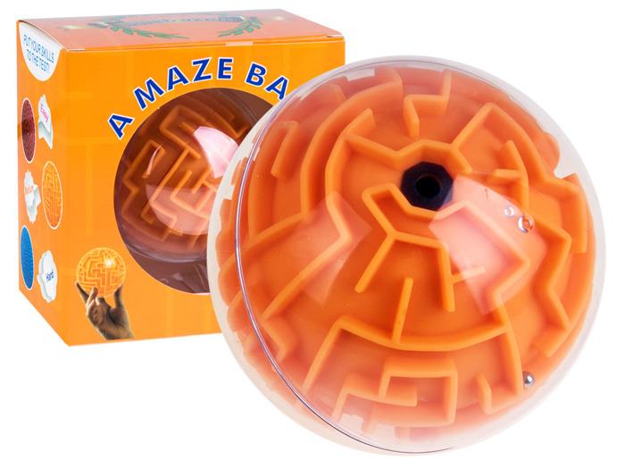 Zabawka zręcznościowa Kula labirynt 3D MAZE BALL (11 cm)